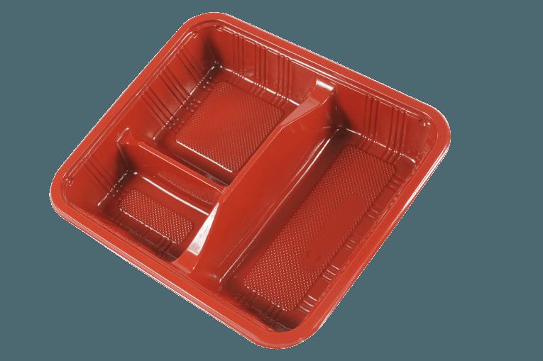 PP Lunch Box / Bento Box 一次性便當盒/餐盒 (可微波) L1