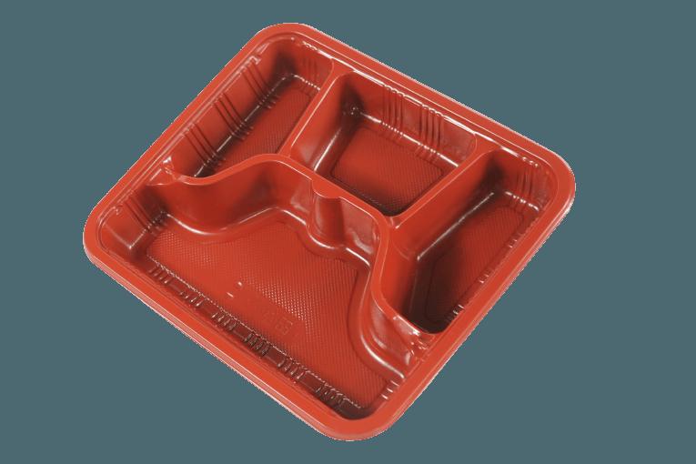 PP Lunch Box / Bento Box 一次性便當盒/餐盒 (可微波)- L3