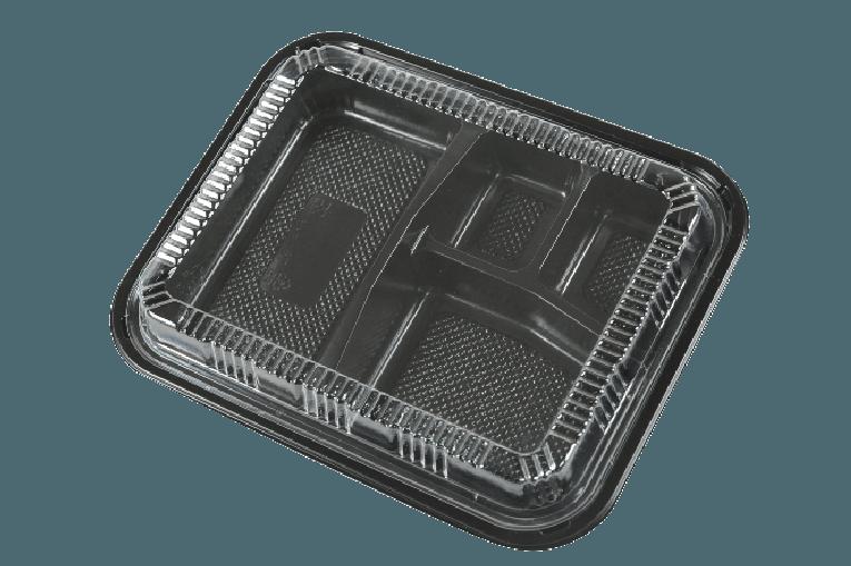 PP Lunch Box / Bento Box 一次性便當盒/餐盒 (可微波) K303
