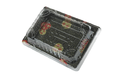 PS/OPS/PLA Sushi Tray/ Sushi Box 一次性櫻花壽司盒