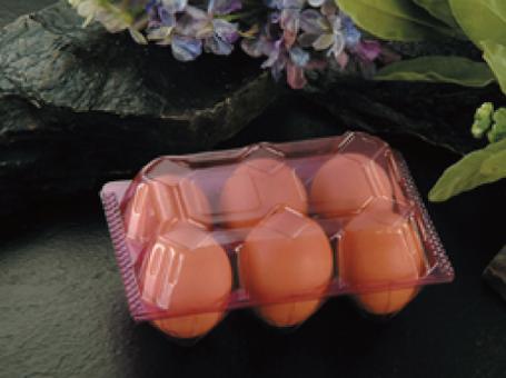 PLA/PVC Egg Box 一次性蛋盒- VT6