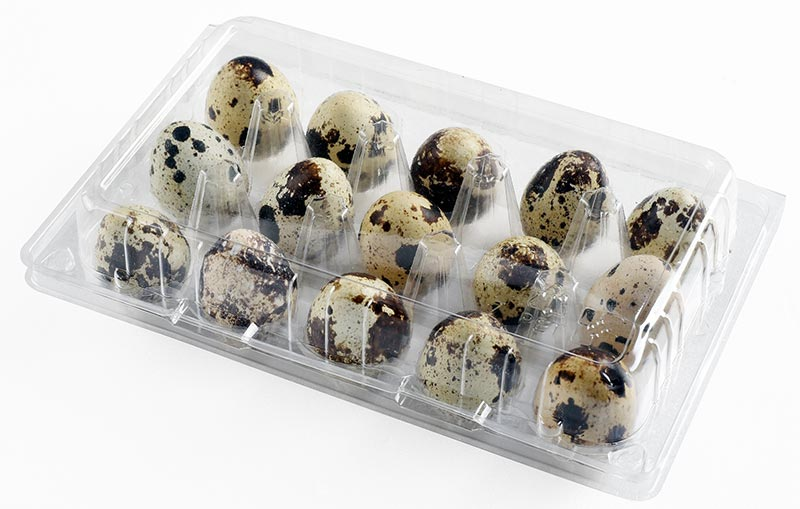 PLA/PET 15pcs Quail Egg Box 鵪鶉蛋盒- 15入