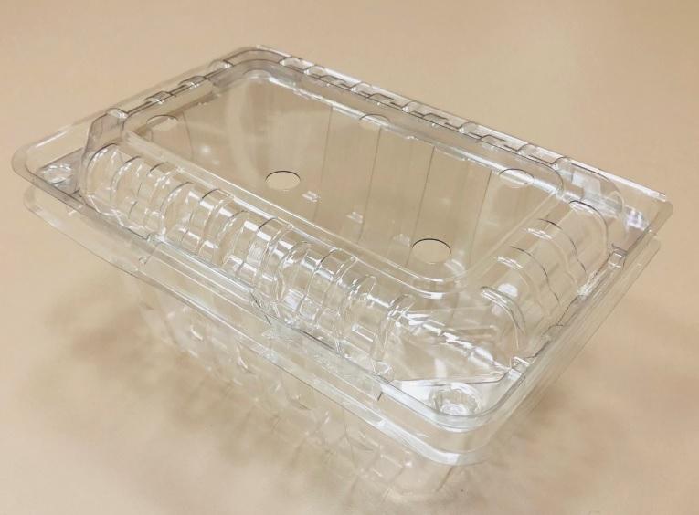 PET/PLA Tomato/Fruit box 一斤番茄盒/水果盒/透明蔬果盒 1000