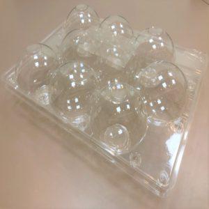 9 PACK PLA Apple Box/Container 蘋果盒-金冠鑫-9入