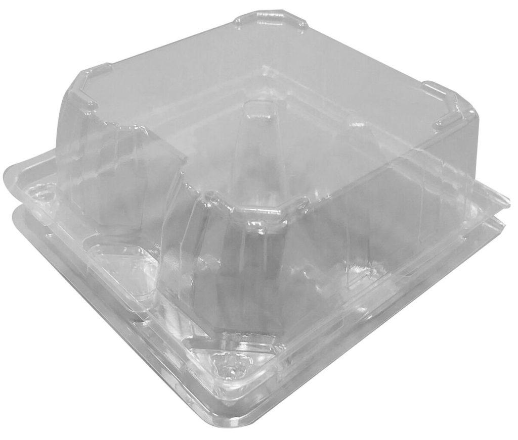 PLA Egg Box PLA 4粒裝自釦式蛋盒-K2-4PCX