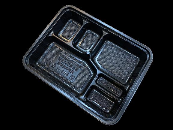 666 黑 Lunch Box
