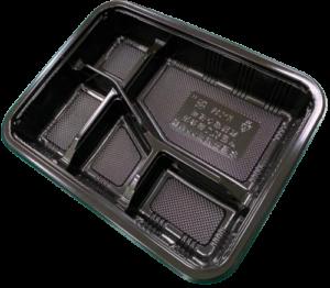PP Take-Out Lunch Box PP外帶午餐盒/PP餐盒(K036黑色款)