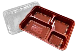PP Take-Out Lunch Box PP外帶午餐盒/PP餐盒(K168)